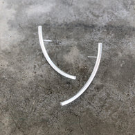 single arc earrings - Lisa Crowder Studio