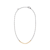 disc chain necklace - Lisa Crowder Studio