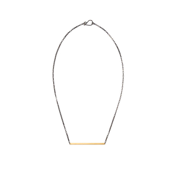 single bar necklace - Lisa Crowder Studio