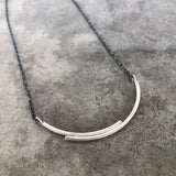 double arc bar necklace - Lisa Crowder Studio
