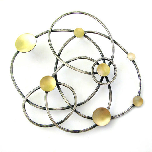 constellation brooch - Lisa Crowder Jewelry