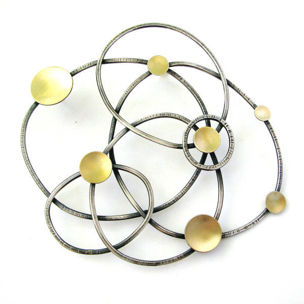 constellation brooch - Lisa Crowder Studio