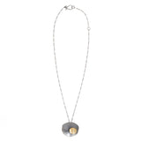 offset flutter pendant - Lisa Crowder Jewelry