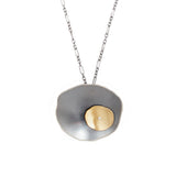 offset flutter pendant - Lisa Crowder Studio