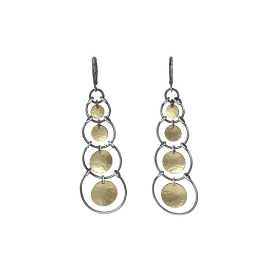 multi stirrup earring - Lisa Crowder Jewelry