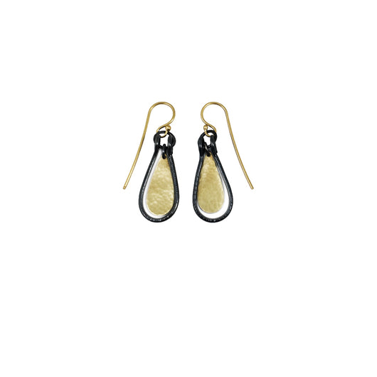 small hatch tear earrings - Lisa Crowder Jewelry
