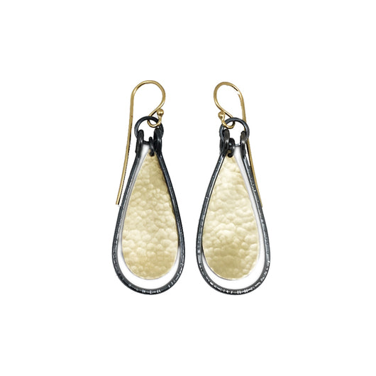 hatch tear earring - Lisa Crowder Jewelry
