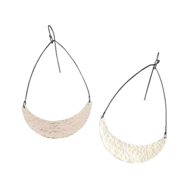 single arc earrings - Lisa Crowder Jewelry