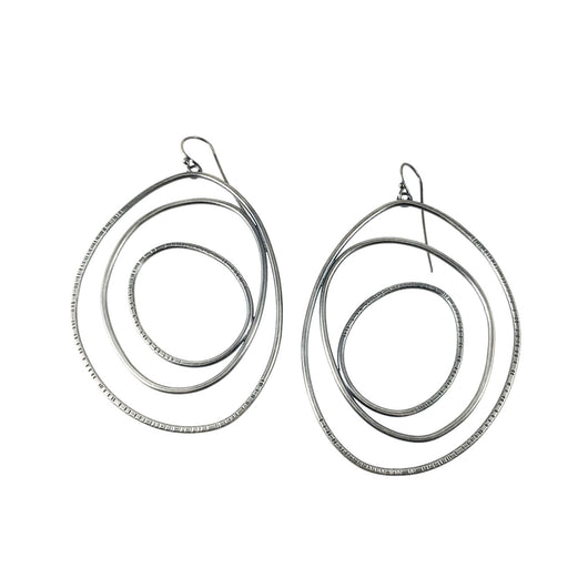 hatch slice earrings - Lisa Crowder Jewelry