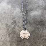 Custom name/word pendant - Lisa Crowder Jewelry