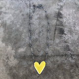 large heart necklace - Lisa Crowder Jewelry