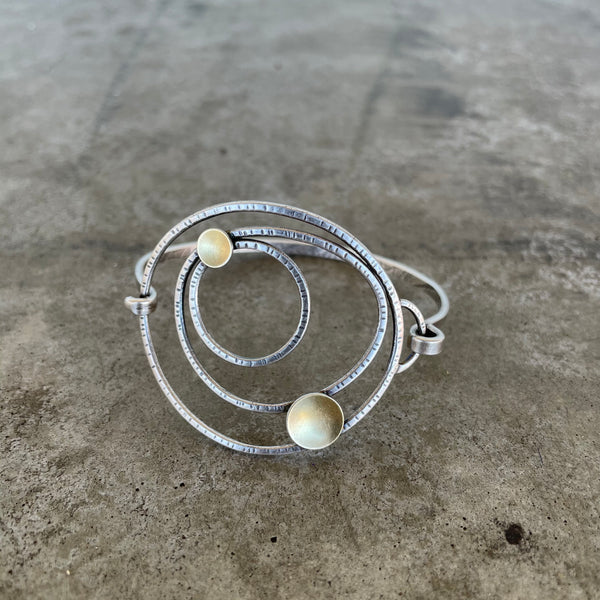 constellation cuff - Lisa Crowder Studio