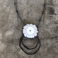 solar quartz rough cut necklace - Lisa Crowder Jewelry