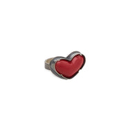 red enamel heart ring - Lisa Crowder Jewelry