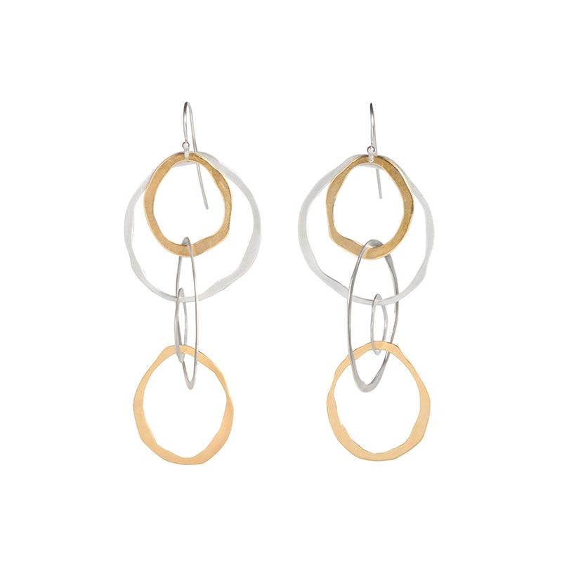 medium rough cut jumble earring - Lisa Crowder Studio