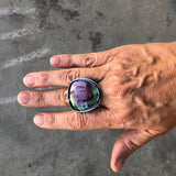 large ruby zoisite ring - Lisa Crowder Jewelry