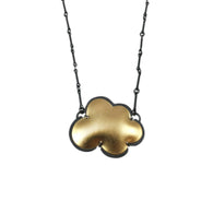 vermeil small cloud necklace - Lisa Crowder Jewelry