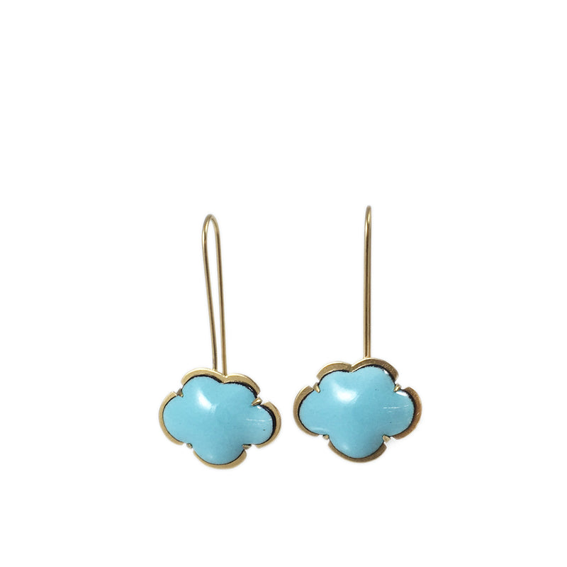tiny cloud earring vermeil - Lisa Crowder Studio