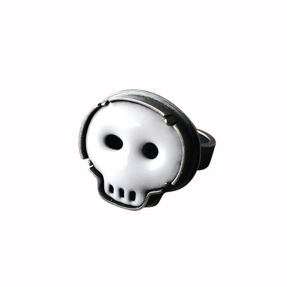 small skull ring - Lisa Crowder Studio