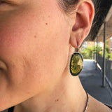 vesuvianite earrings - Lisa Crowder Jewelry