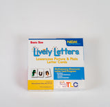 Lively Letters Basic Size Lowercase Picture and Plain Letter Cards