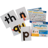 New Generation Lively Letters™ Basic Size Lowercase Picture and Plain Letter Cards