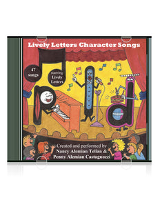 Lively Letters Phonic Songs CD