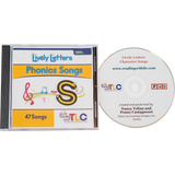 New Generation Lively Letters™ Phonic Songs CD