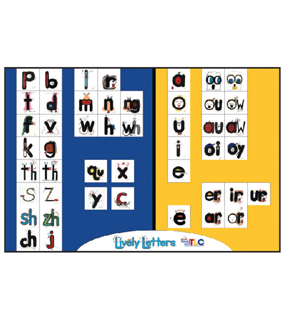 Lively Letters Chart Poster