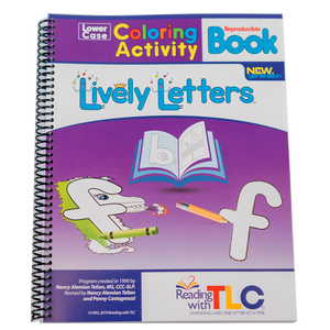 New Generation Lively Letters™ Digital Reproducible Lowercase Coloring Activity Book (E-Product)