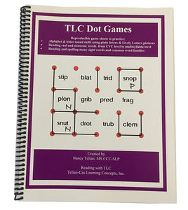 Reading with TLC Dot Games