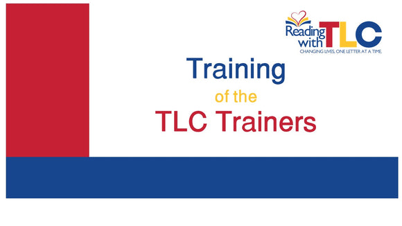 8-14, 19, 20 & 24  Training of the TLC Trainers Live Webinar