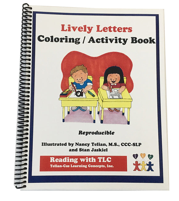 Lively Letters Coloring Activity Book