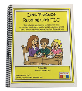 Let's Practice Reading with TLC Reproducible Workbook