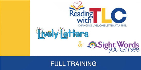 7-27 & 7-28 -2020 Lively Letters Full Training Live and Recorded Webinar- Now Including Great Tips For Online Teaching