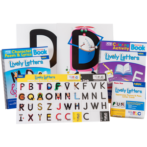 New Generation Lively Letters™ Uppercase Supplemental Bundle