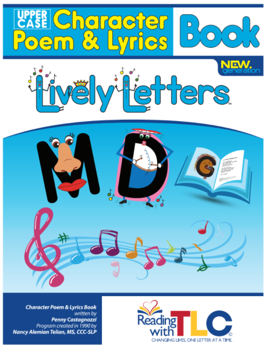 New Generation Lively Letters™ Uppercase Poem and Lyrics Book