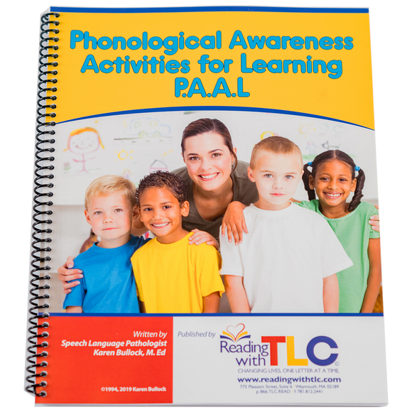 Phonological Awareness Activities for Learning (P.A.A.L) Digital Book (E-Product)