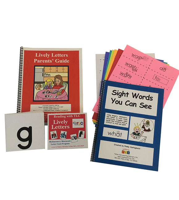 Reading with TLC Parents Bundle