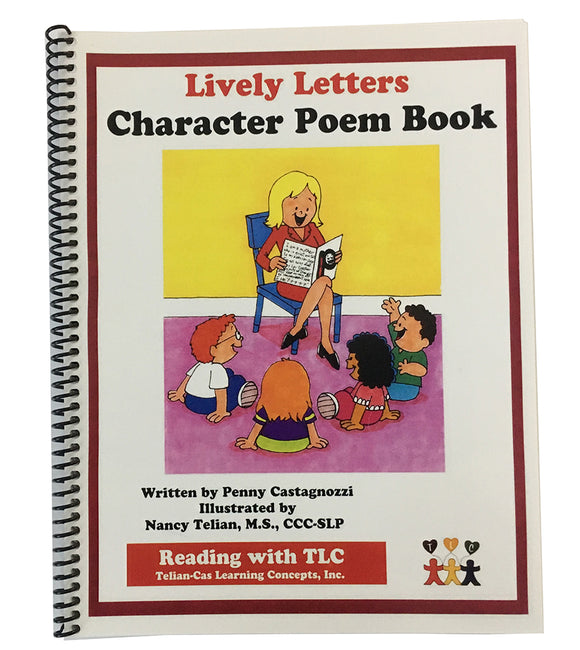 Lively Letters Character Poem Book