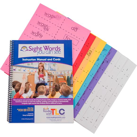Sight Words You Can See - Personal Size Set