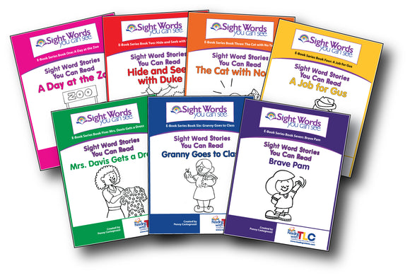 Sight Word Stories You Can Read Reproducible books-Digital Download E-Books
