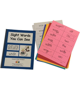 Sight Words You Can See Personal Set