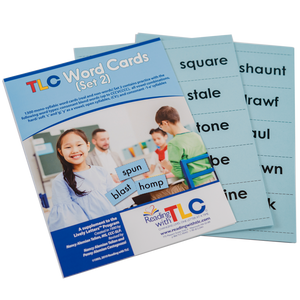 Reading with TLC Word Cards - Set 2
