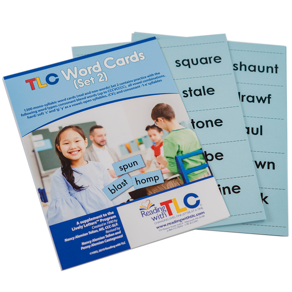 Reading with TLC Digital Word Cards - Set 2  (E-Product)