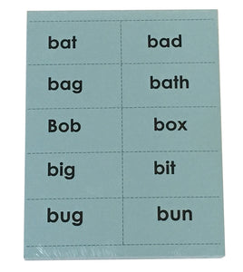 Reading with TLC Word Cards Set 1