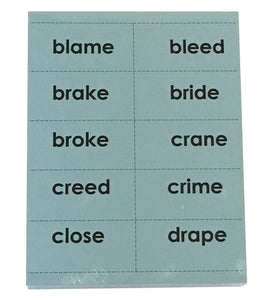 Reading with TLC Word Cards Set 2