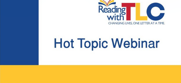 6-03-19  LIVE & RECORDED WEBINAR: Managing Behavior While Training Literacy  & Other Skills: 7 PM - 9 PM EST