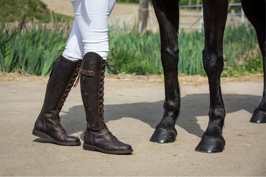 how can i tell if riding boots fit
