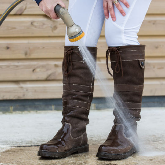 How to look after your leather boots in the extremes of British weather!